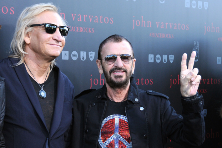 Ringo Starr and Joe Walsh's BFF Ascension: A Timeline