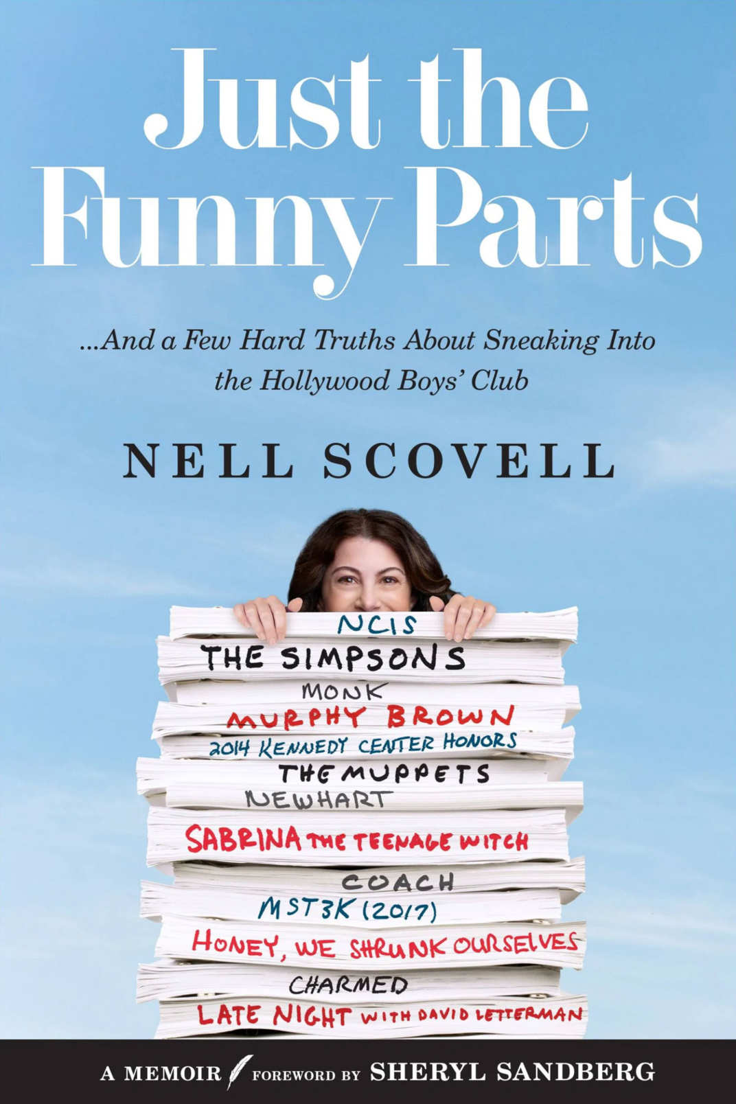 <em>Just the Funny Parts</em> by Nell Scovell