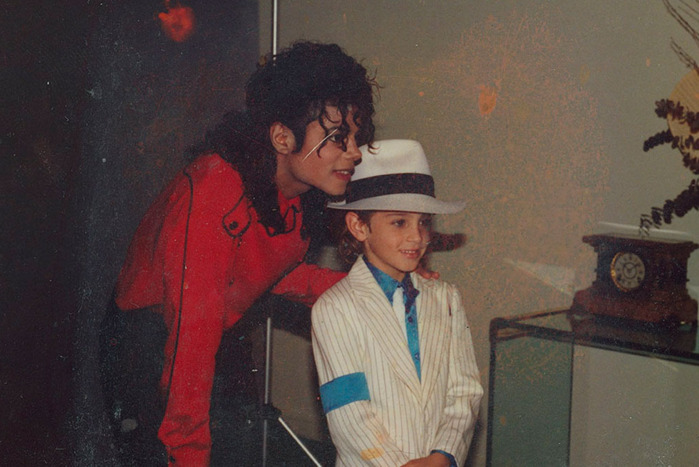 Michael Jackson and Wade Robson in Leaving Neverland.