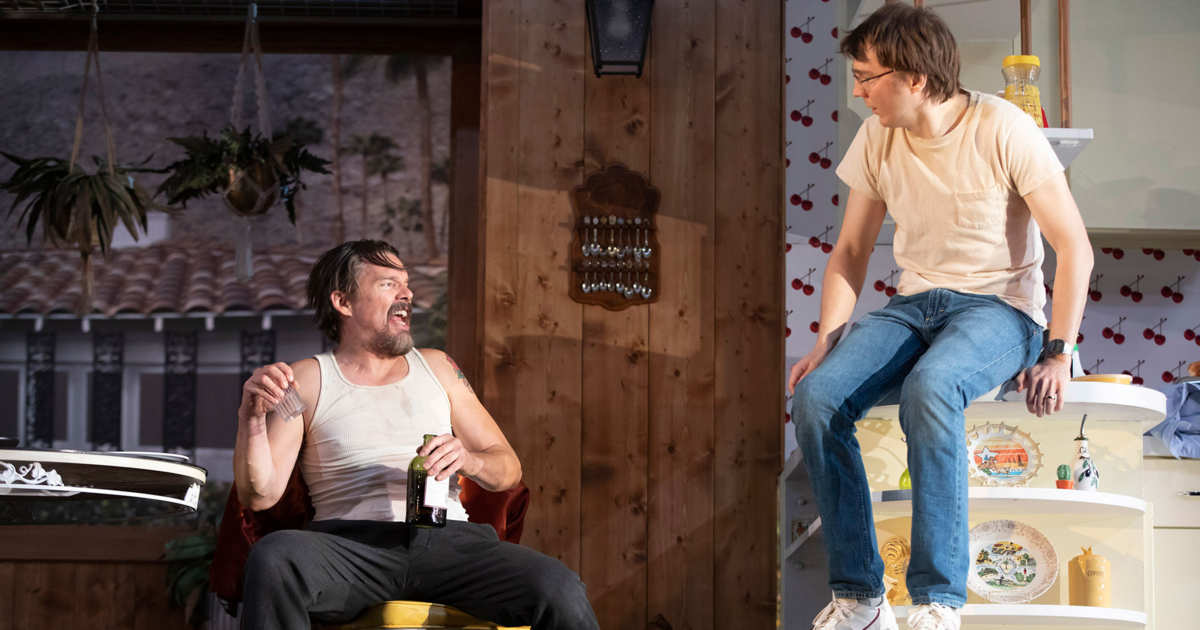 Theater: A True West That Simmers Instead of Boiling Over