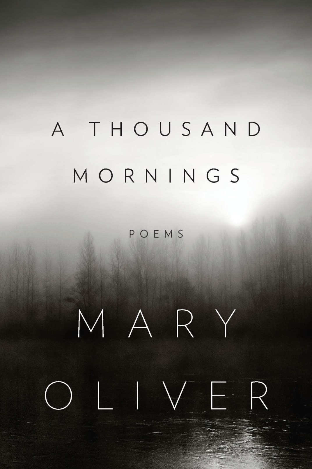 <em>A Thousand Mornings</em> by Mary Oliver