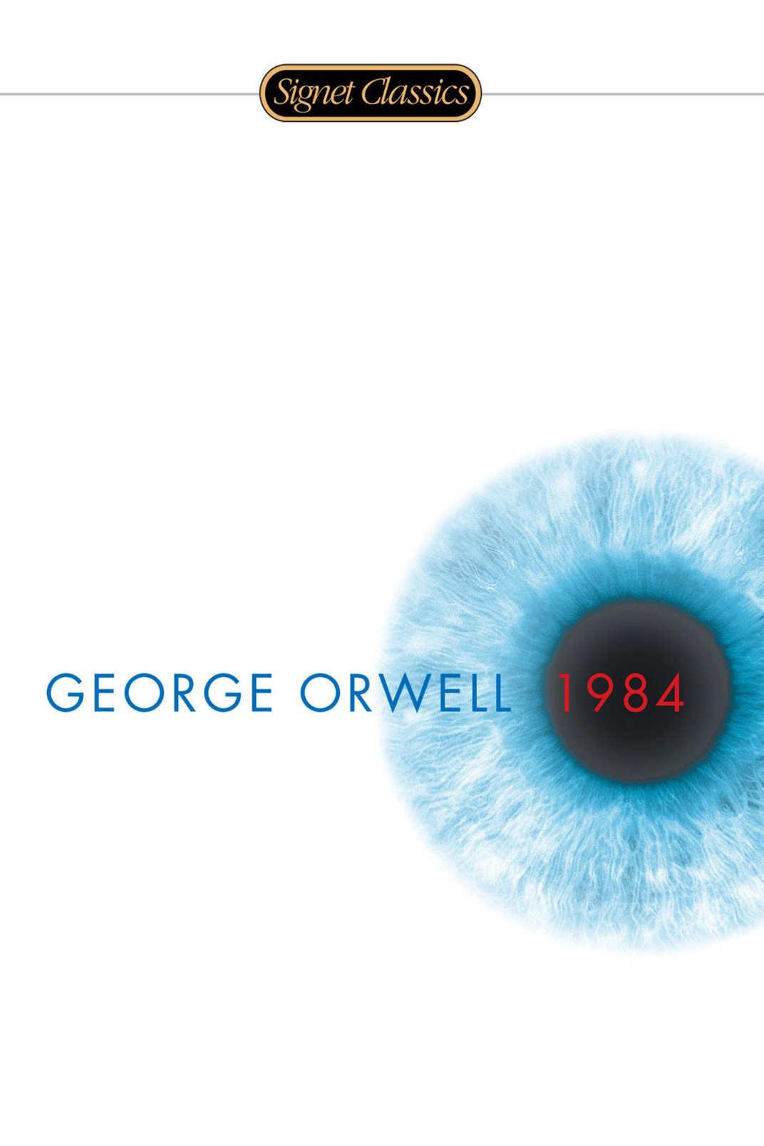 <em>1984</em>, by George Orwell