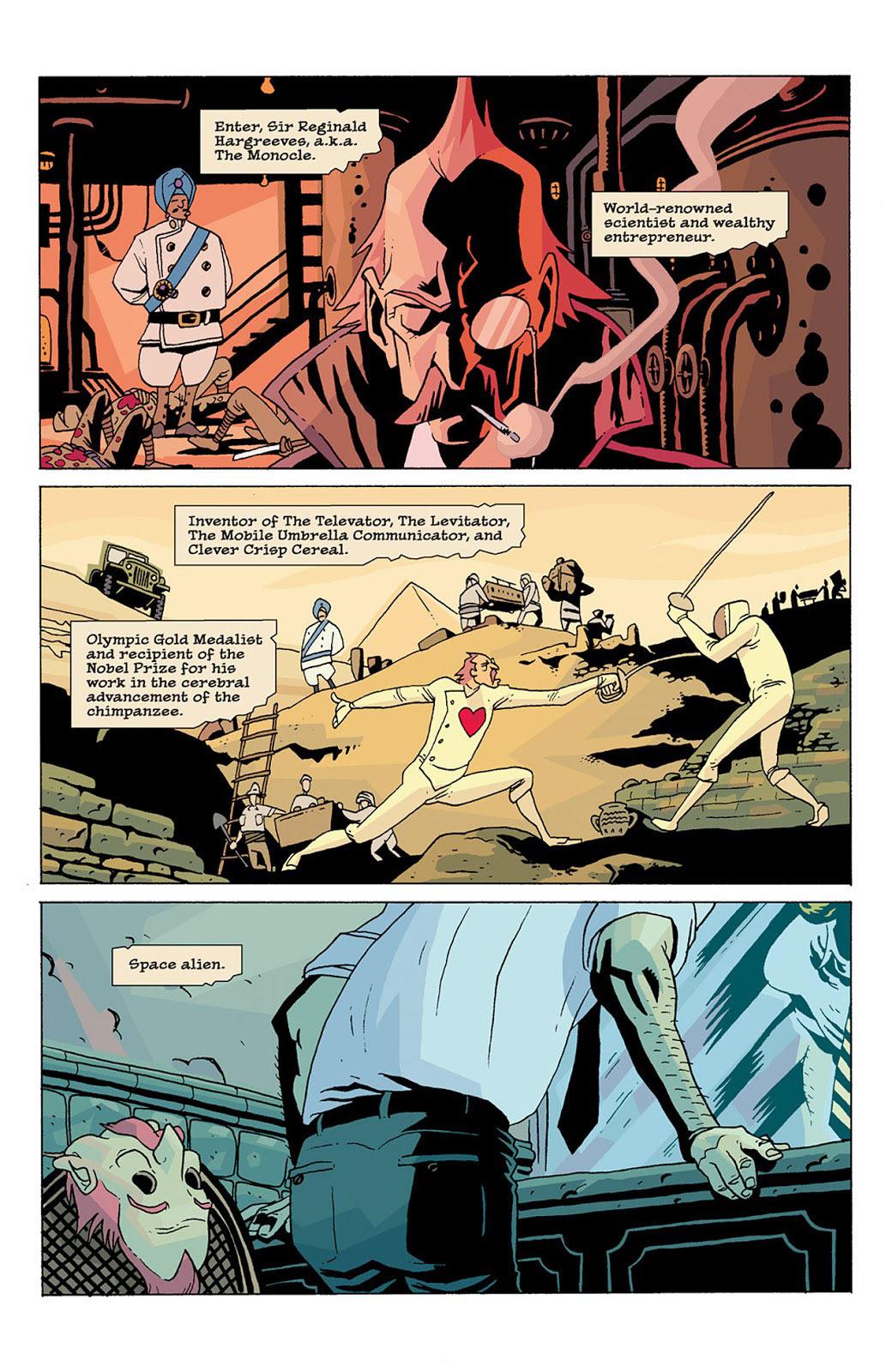 umbrella academy comic book ending