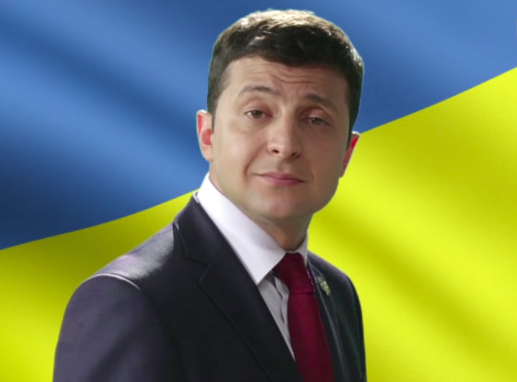 Ukraine's New President? A Comedian Whose Only Political Experience Is Playing Ukraine's President