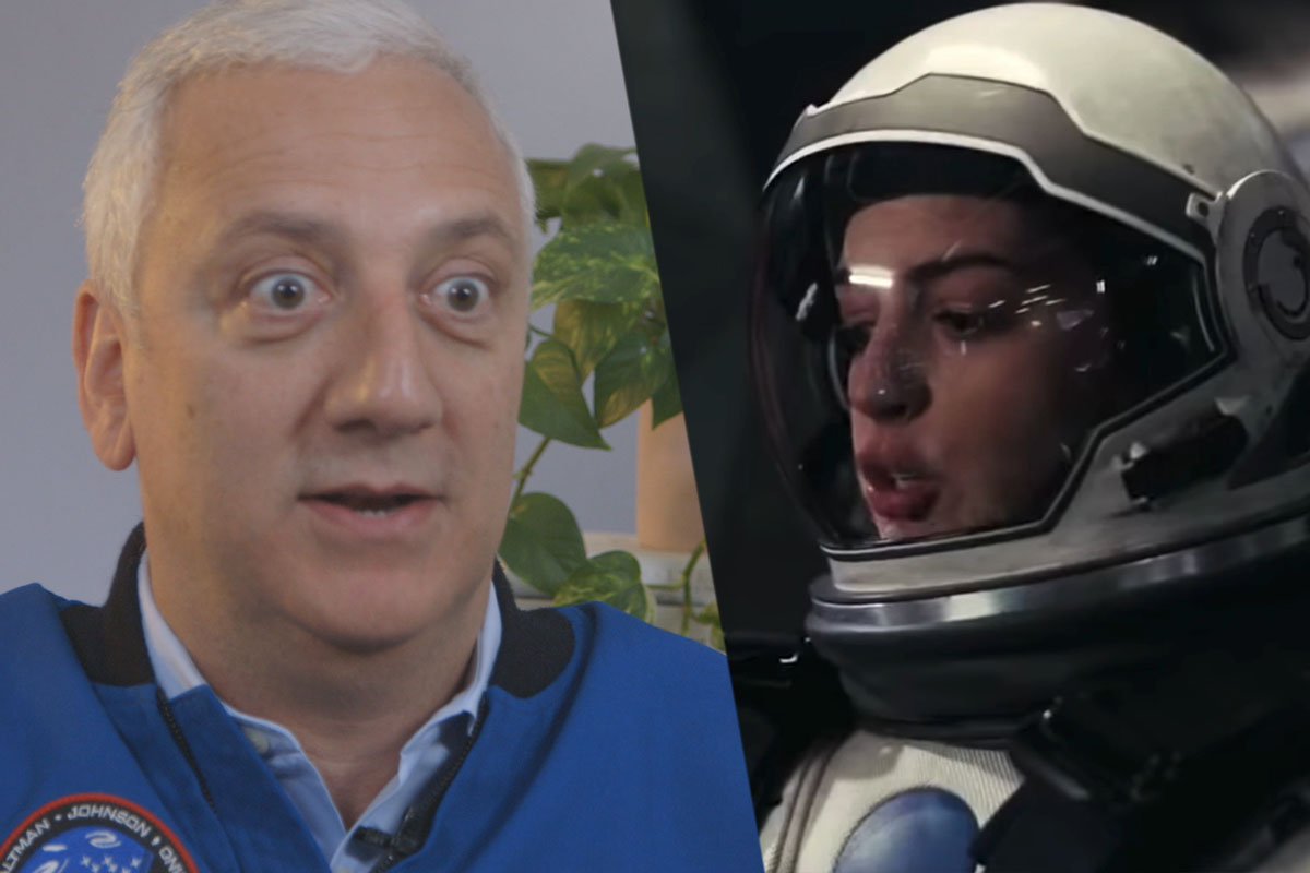 An Astronaut Reacts to Films About Space