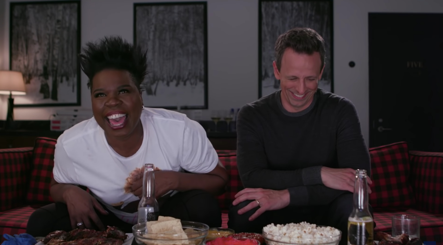 Leslie Jones Reflects on Game of Thrones Finale in Late Night's Very Last Game of Jones