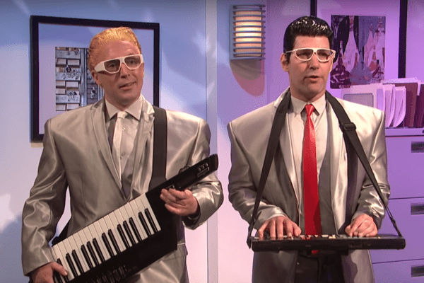Sorry, Kraftwerk: Paul Rudd's Sexy Computer New Wave Band Is Here to Stay