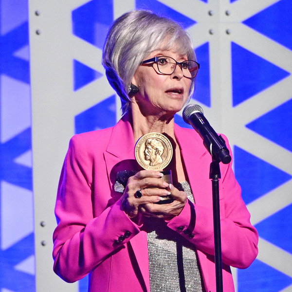 Rita Moreno Dedicates Peabody Award to 'My Mommy the Artist' in Moving Speech