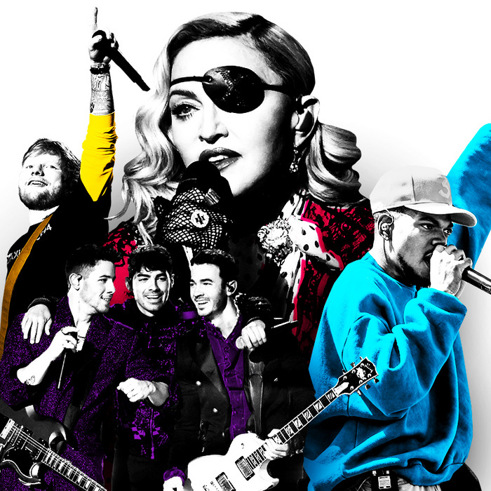 Summer Music Preview: Madonna, Ed Sheeran, Chance, JoBros
