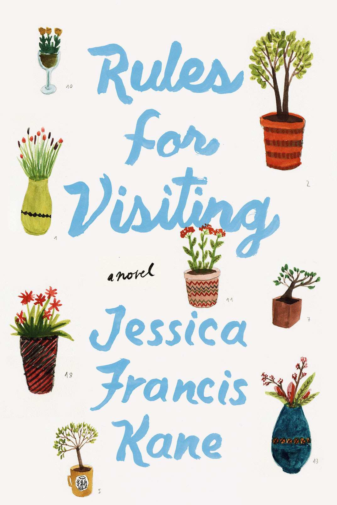 Rules for Visiting, by Jessica Frances Kane