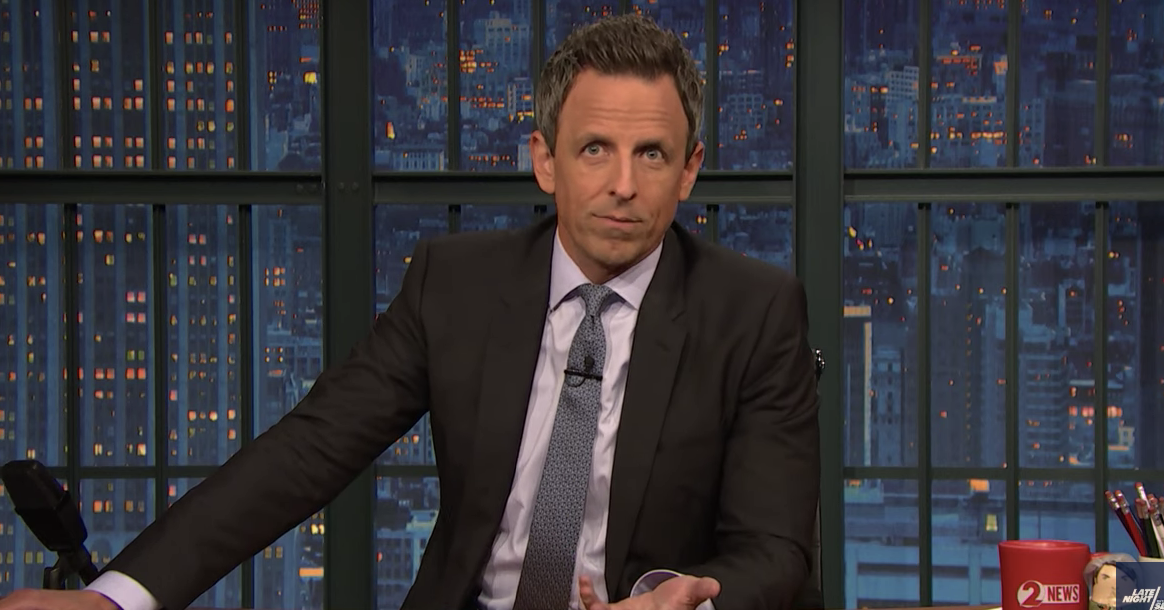 Seth Meyers Casts Doubt on Donald Trump's Trustworthiness