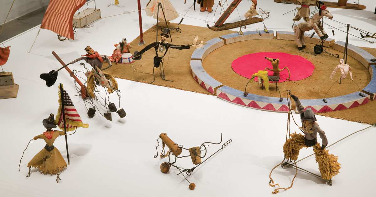 How Alexander Calder's Wee Circus Was Brought Back to Life
