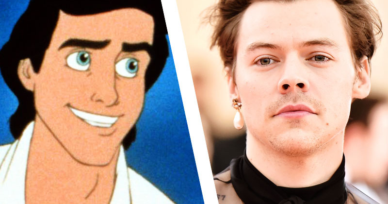 Harry Styles Might Play The Little Mermaid's Prince Eric, Isn't That Neat?