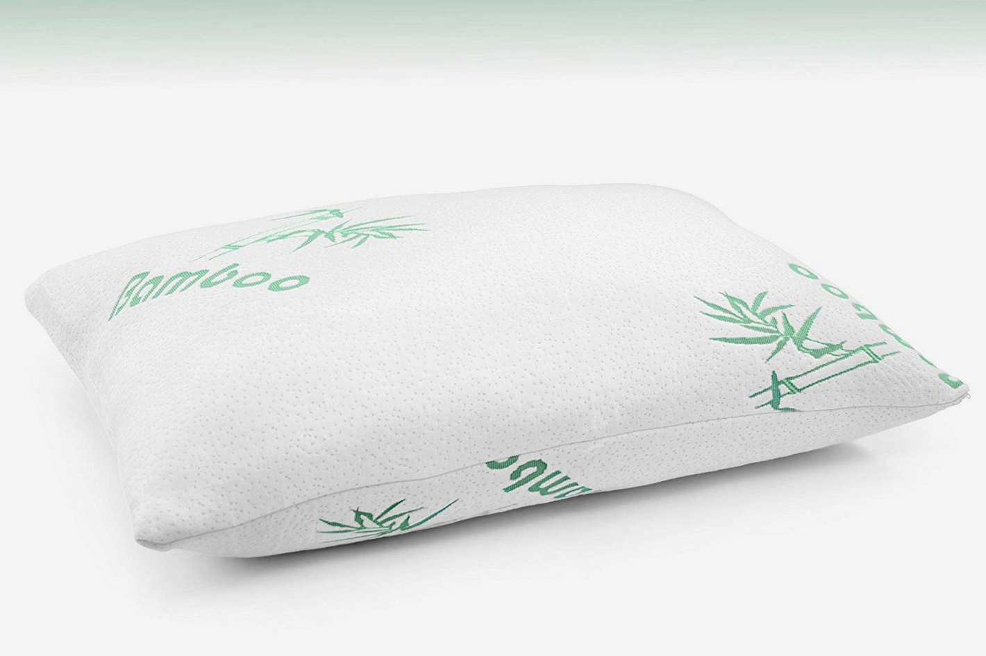 Plixio Cooling Memory Foam Bed Pillows - 2 Pack