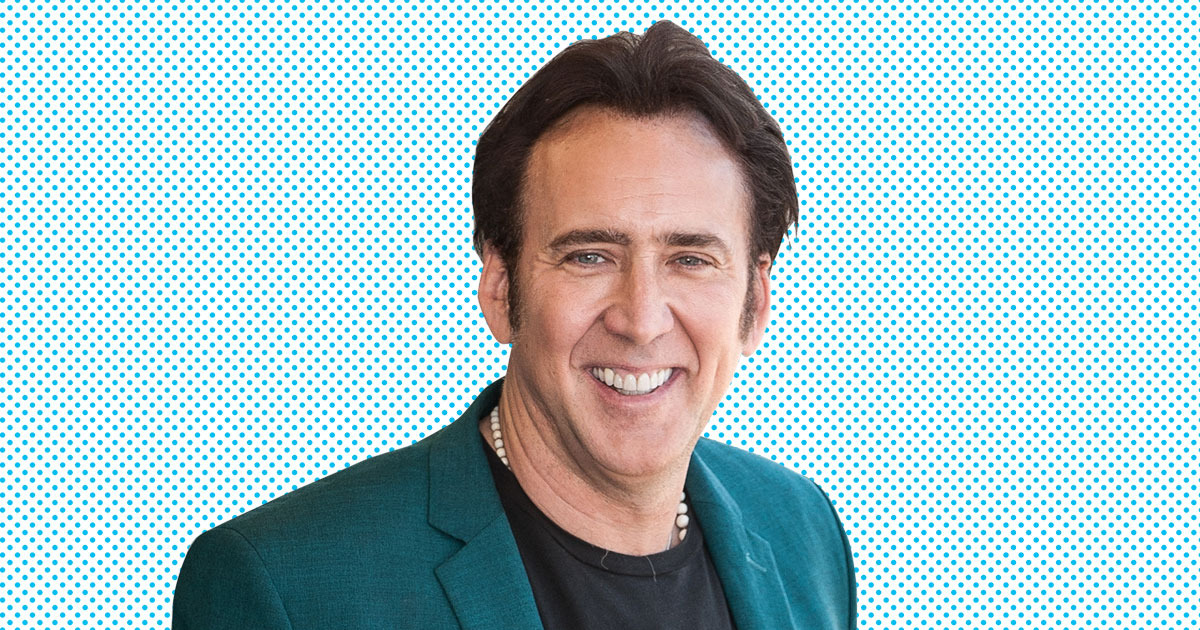 Nicolas Cage Takes Full Credit for That Prosthetic Nose