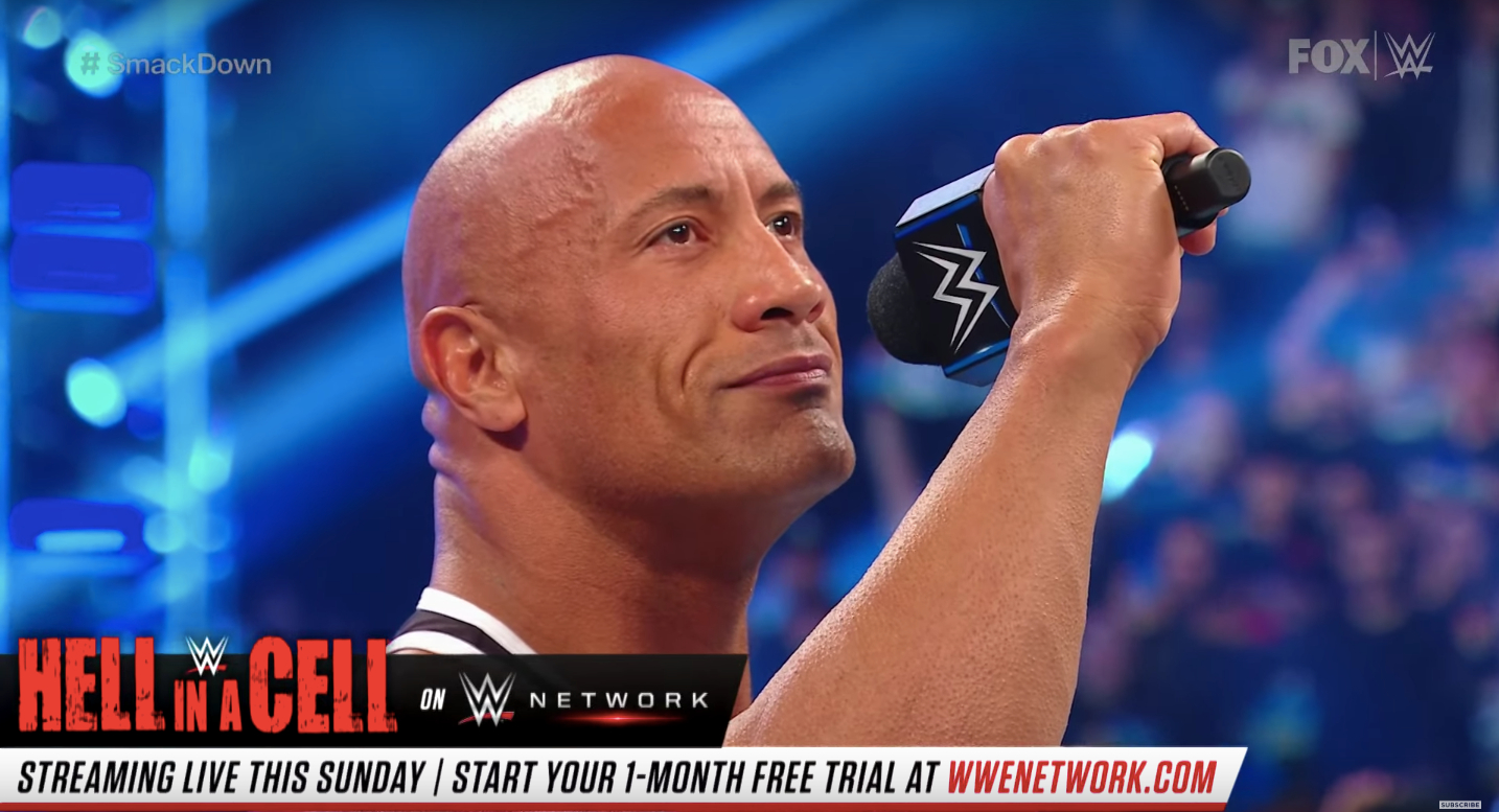 The Rock Offers Cooking Lessons on Friday Night SmackDown