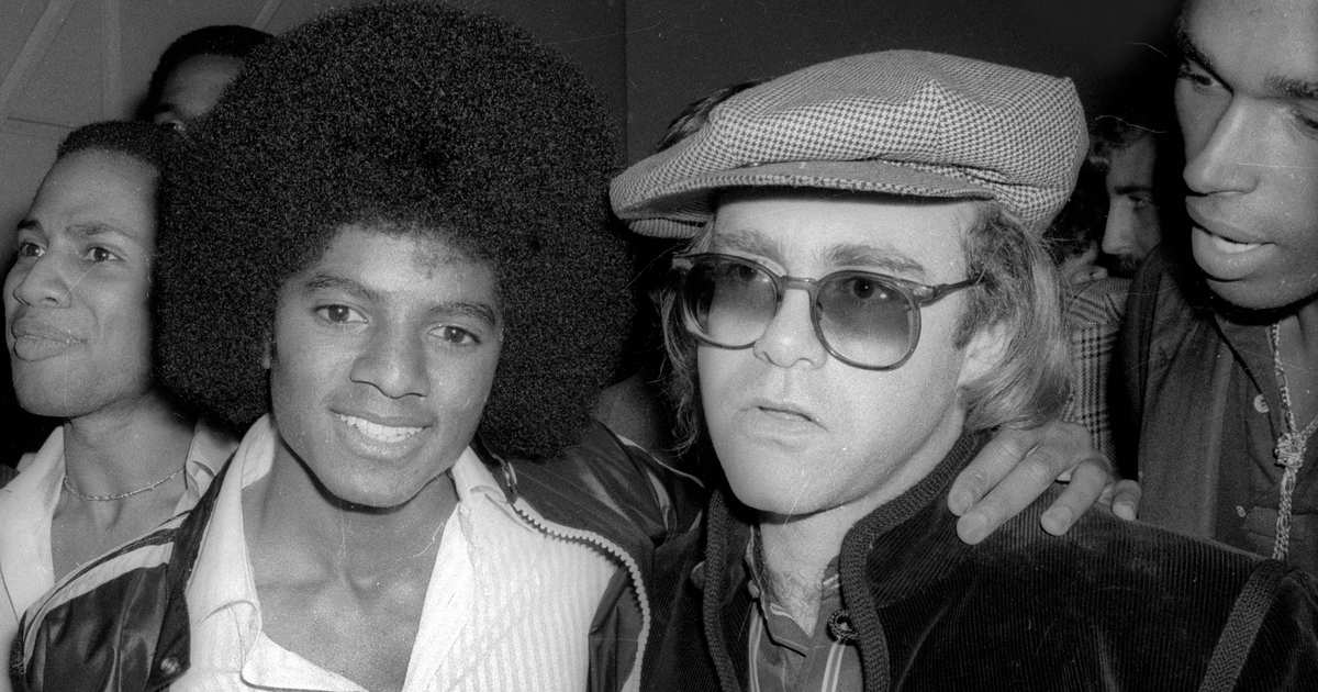 Elton John Once Had a 'Strange' Lunch With Michael Jackson