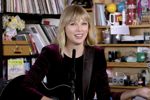 Taylor Swift's Tiny Desk Concert Is Just a Girl and Her Guitar, No Teardrops Needed