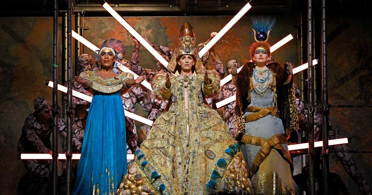 Gleaming and Self-Aware, Glass's Akhnaten Comes the Met