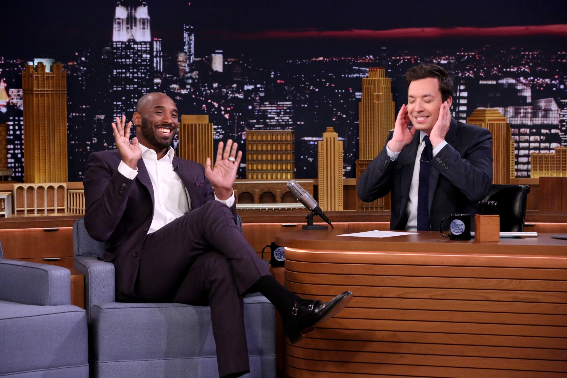Jimmy Fallon Looks Back On The Fateful Beer Run That Introduced Him to Kobe Bryant