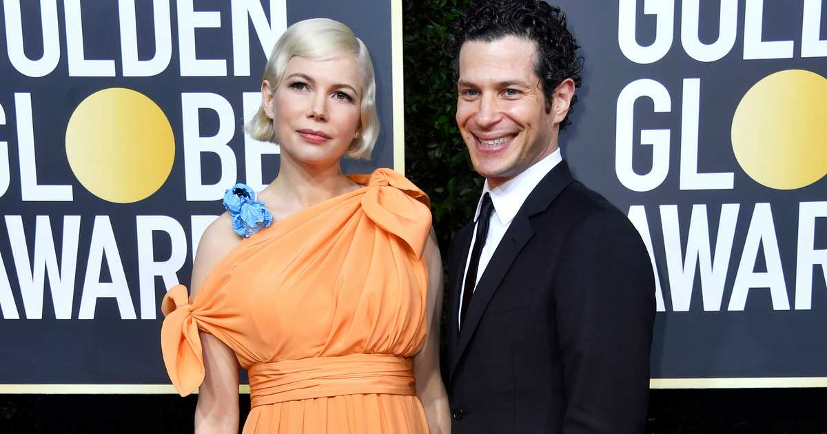 Surprise Couple Michelle Williams and Thomas Kail Make Debut at Golden Globes