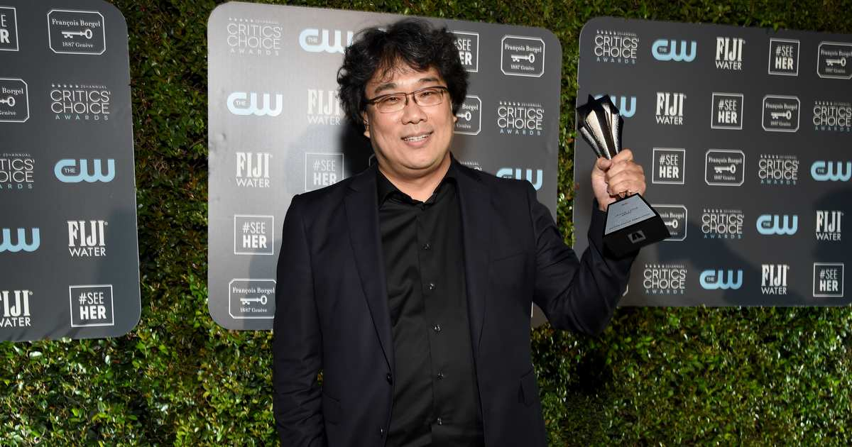 Bong Joon Ho and Sam Mendes Tie for Best Director at the 2020 Critics' Choice Awards