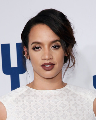 Dascha Polanco at <i>Joy</i>'s New York premiere.