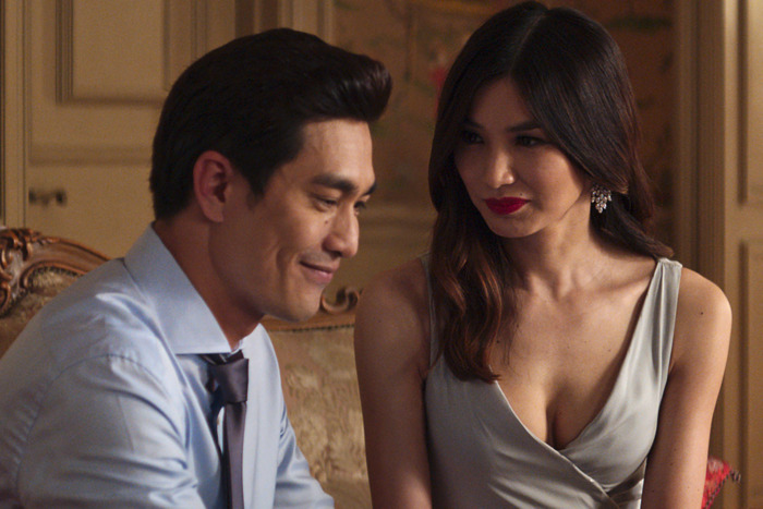 Pierre Png as Michael and Gemma Chan as Astrid.