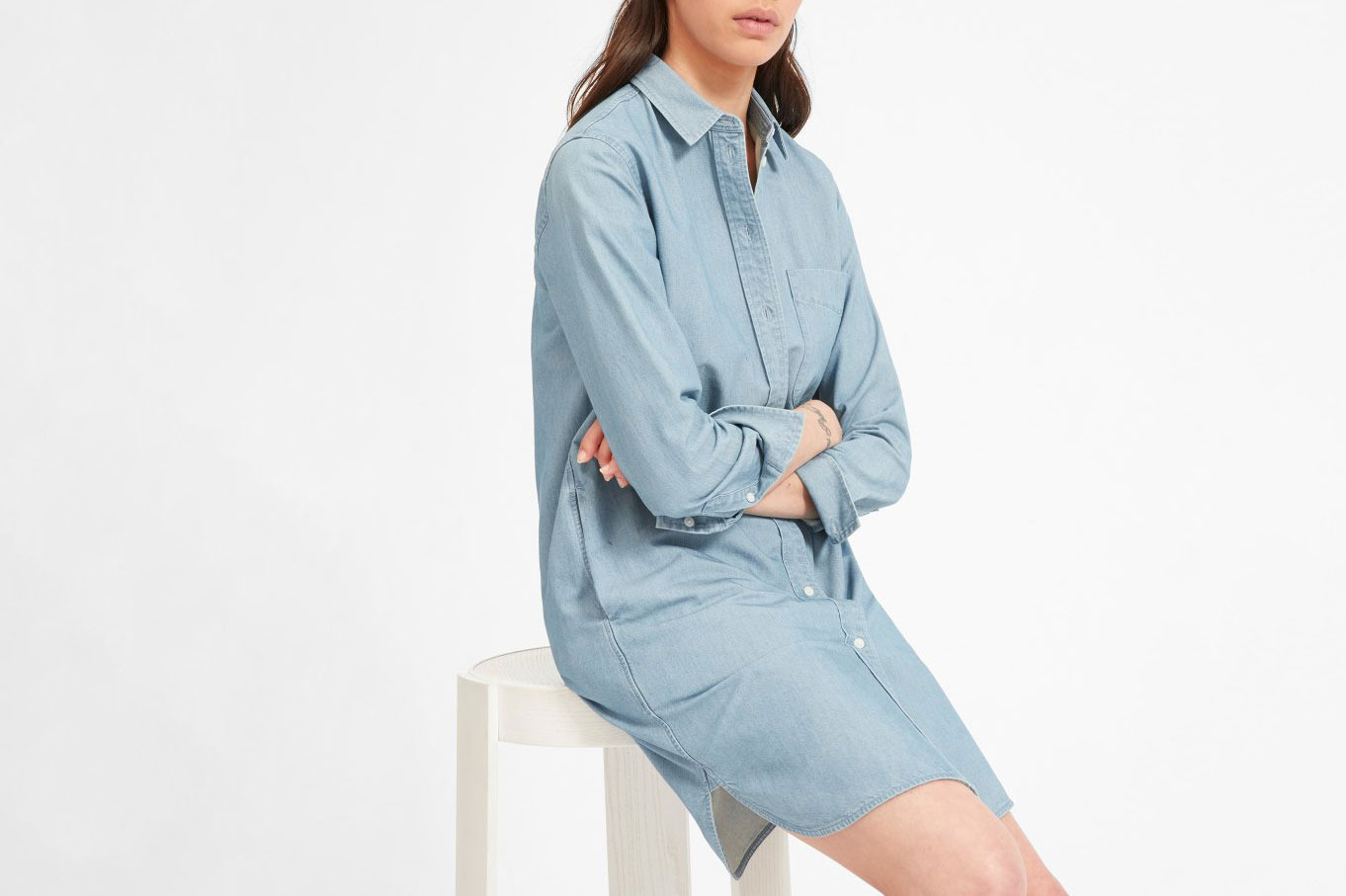 The Jean Shirtdress