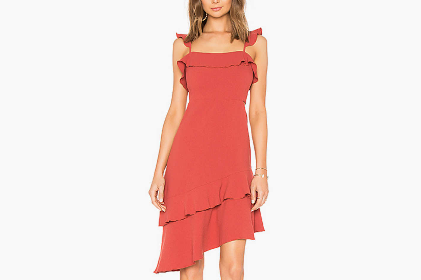 Endless Rose Asymmetric Dress