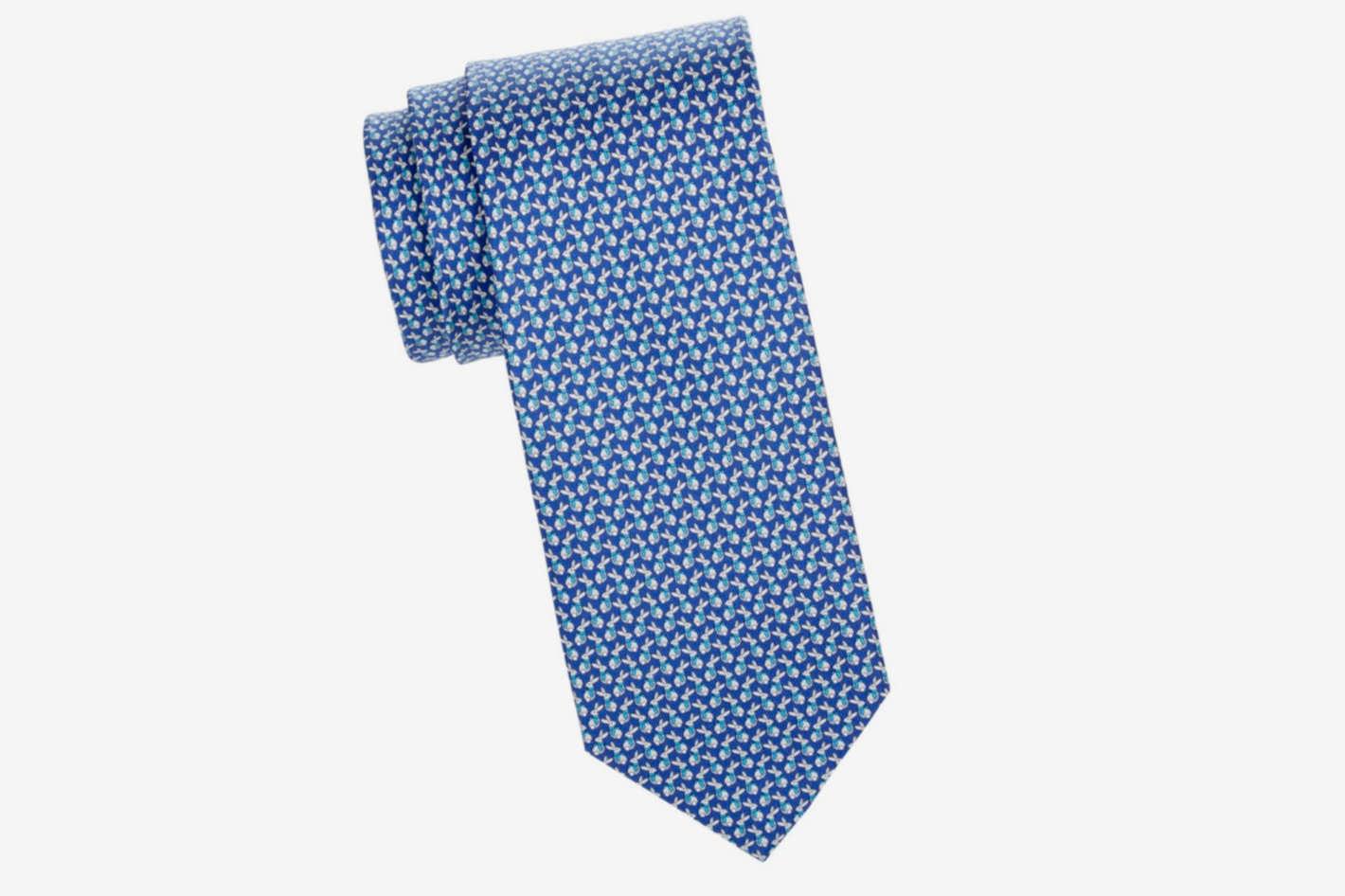 Rabbit Print Tie
