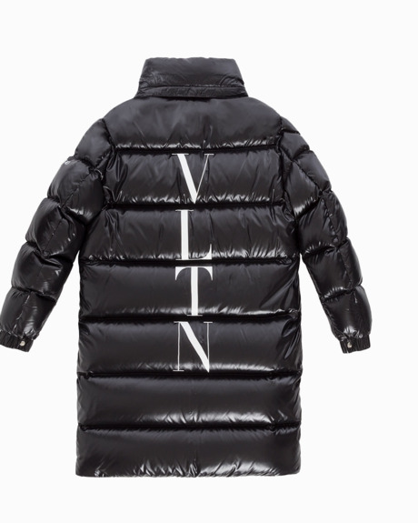 Moncler X Off White printed parka jacket | W Performance in