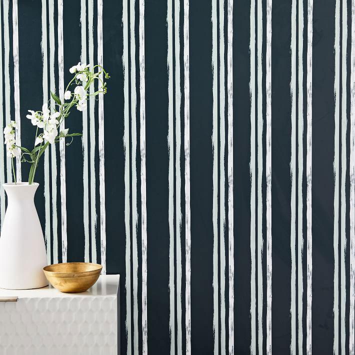 Repeating Stripes Wallpaper