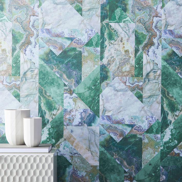 Drop It MODERN Marble Print Wallpaper