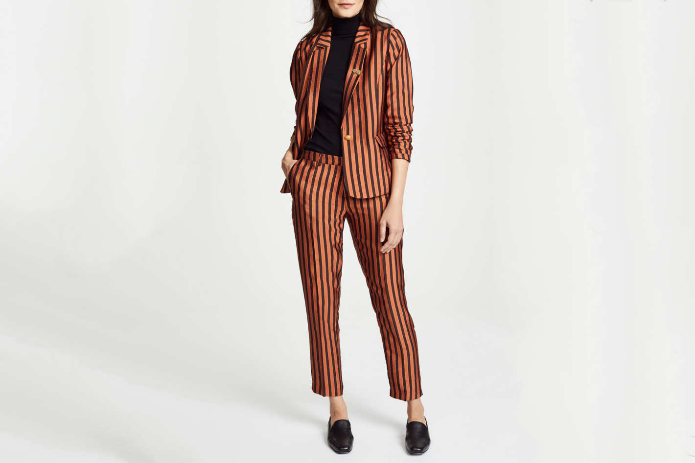Scotch & Soda Striped Tailored Pants