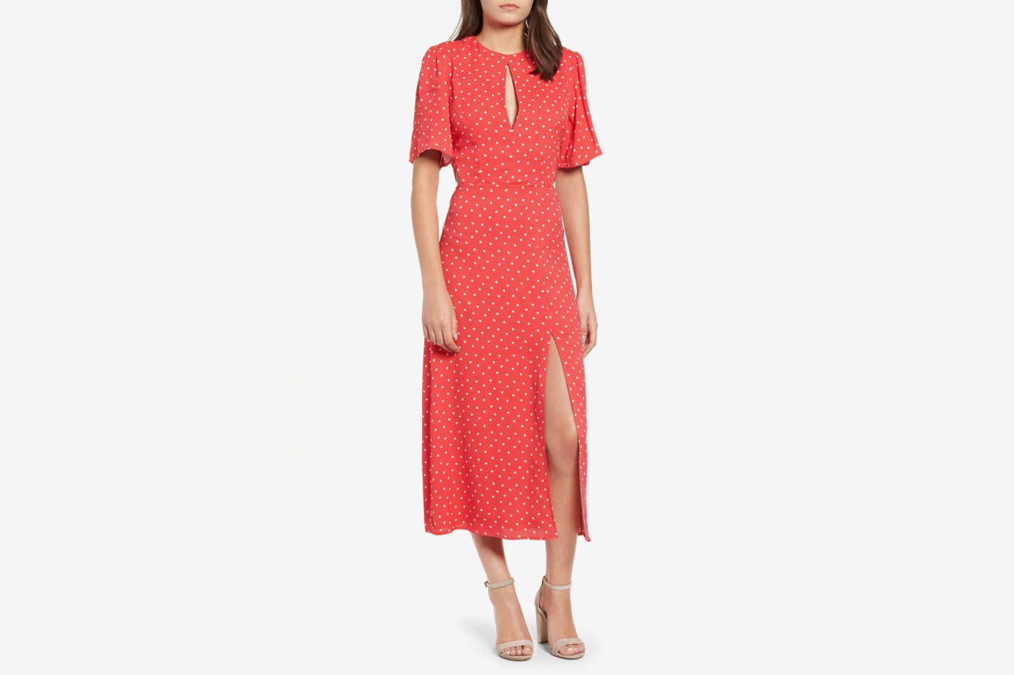 AFRM Meg Midi Dress