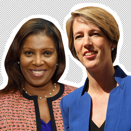 Letitia James, Zephyr Teachout.