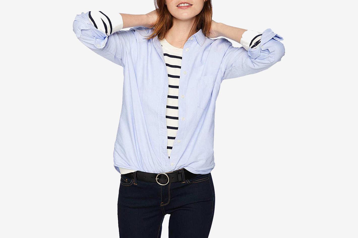 J.Crew Mercantile Women's Oxford Button Down Shirt