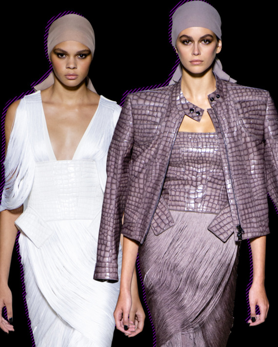 a70100f1b5b Cathy Horyn s Fashion Review of Tom Ford s Spring 2019 Show