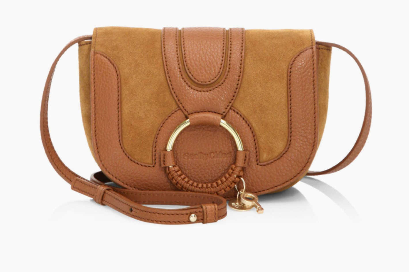 See by Chloé Hana Mini Leather Saddle Bag