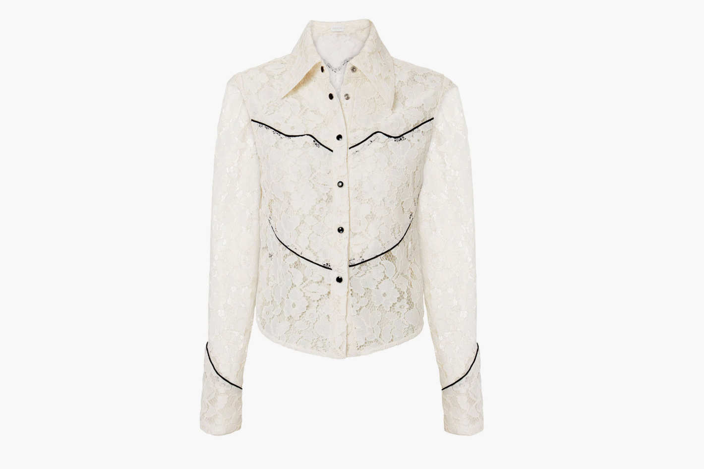 Divine Heritage Western Lace Blouse