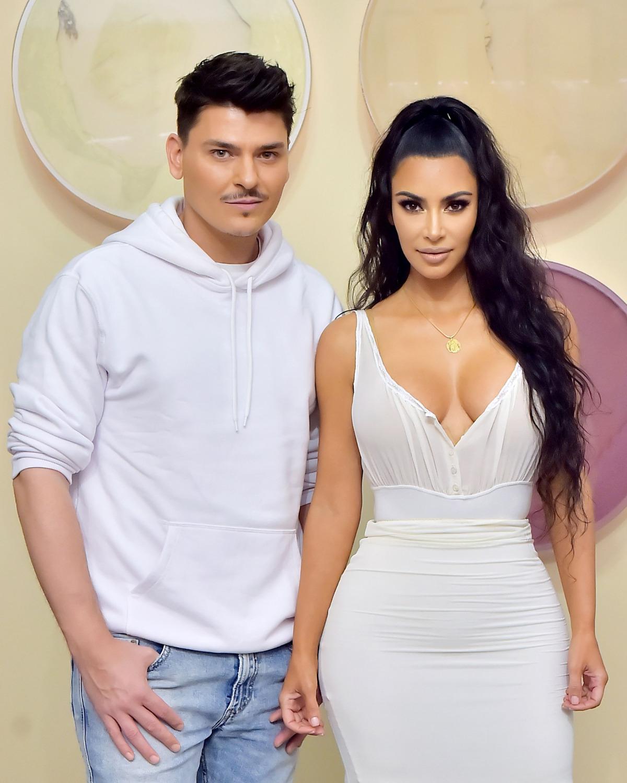 Kim Wants Kardashian Line West's Artist Makeup A doCWQxrBeE