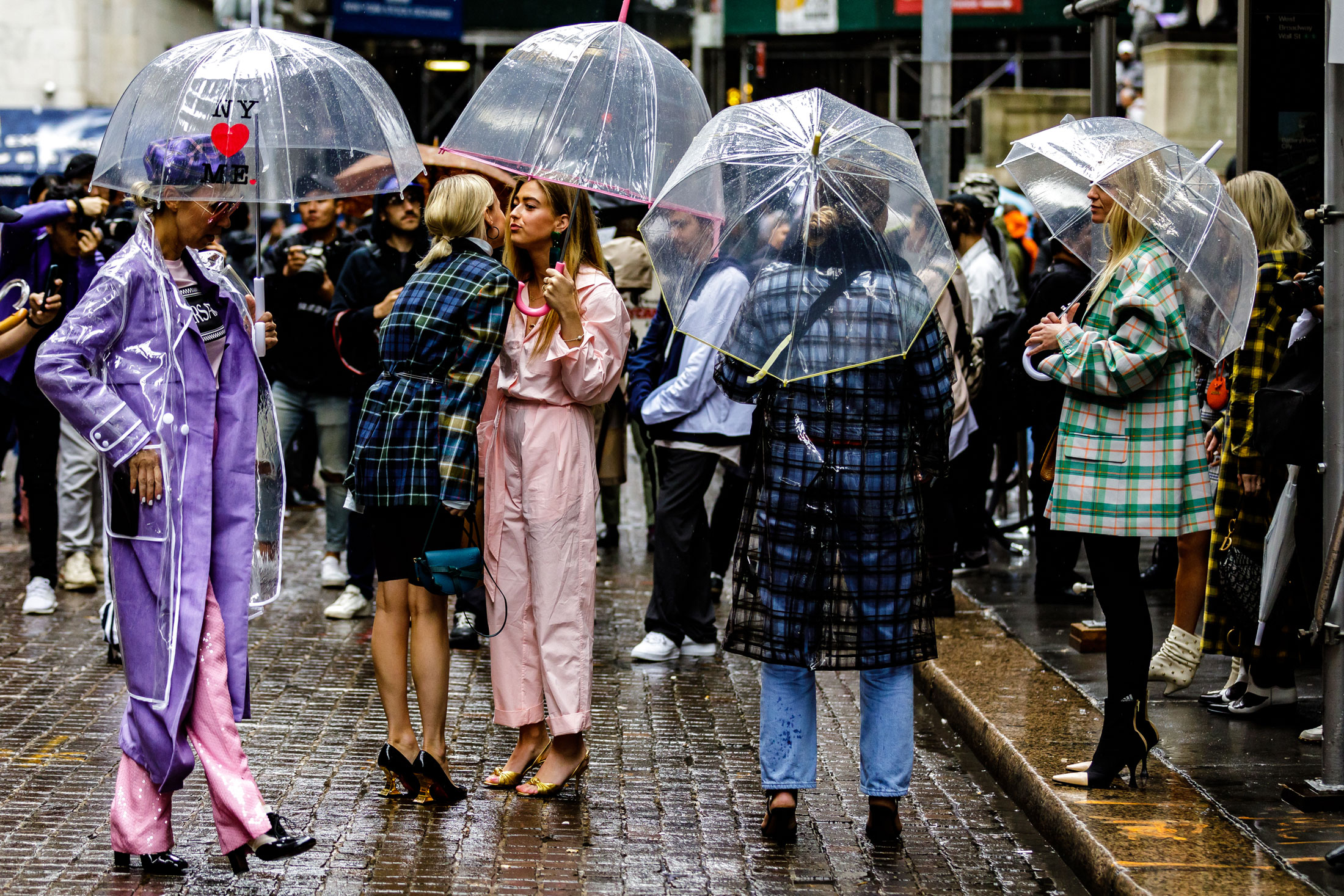The Hottest Accessory at Fashion Week Is a $20 Umbrella