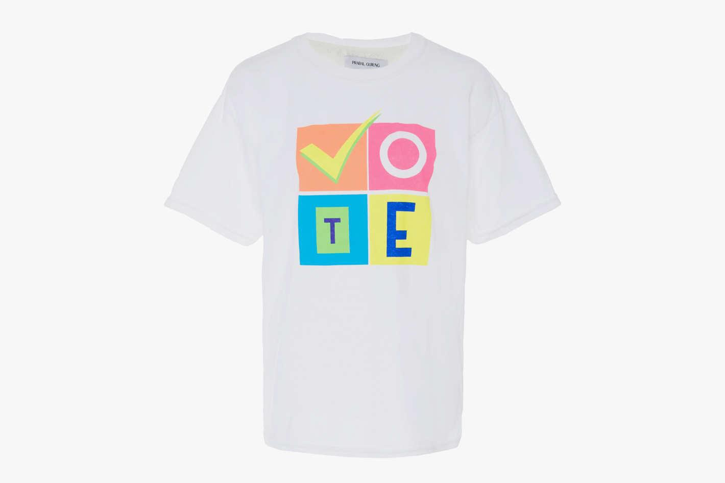 M'O Exclusive x Prabal Gurung T-Shirt