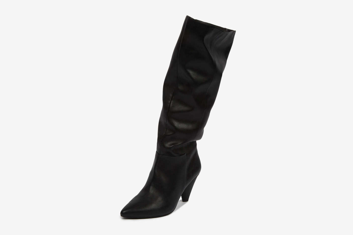 Slouchy Wide Boots