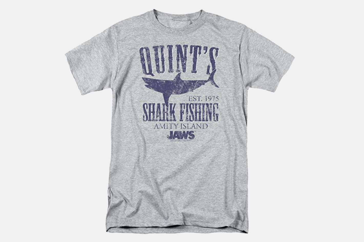 Jaws Movie Quints Shark Fishing T Shirt