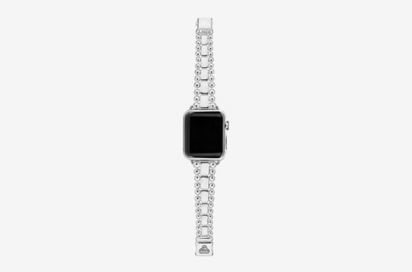 Lagos Sterling Silver Smart Caviar Smartwatch Strap