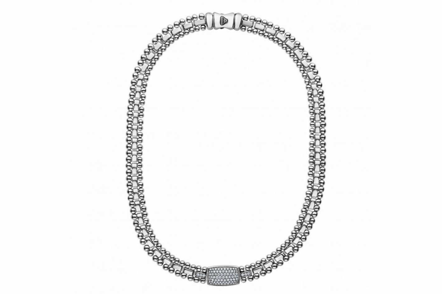 Caviar Spark Diamond Necklace