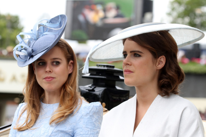 Princess Beatrice and Princess Eugenie.