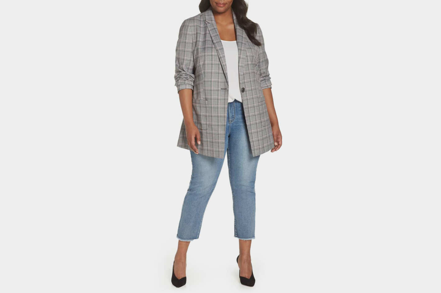 Norm Glen Plaid Blazer